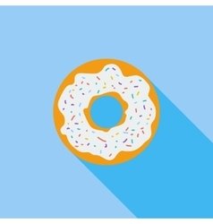 Donut icon vector