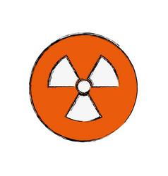 Nuclear sign advert vector