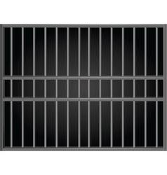 Prison bars vector image