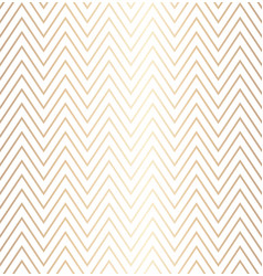 Trendy simple seamless zig zag golden geometric vector