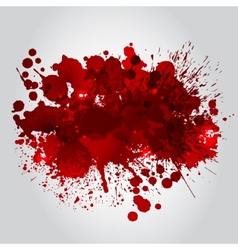 Background With Red Blots vector image