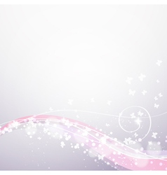 Abstract soft flow background vector