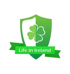 Life in Ireland vector image vector image
