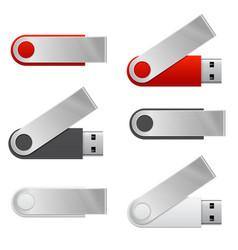 Usb flash drive vector
