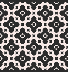 Abstract pattern with diagonal grid repeat tiles vector