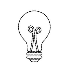 bulb light idea creativity inspiration concept vector image