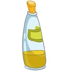 Cartoon home kitchen bottle vector