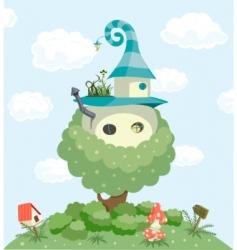 Fairy tale house vector