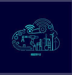 Industry4 vector