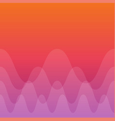 line wave concept abstract background vector image