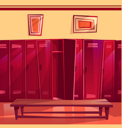 locker room gym seamless vector image