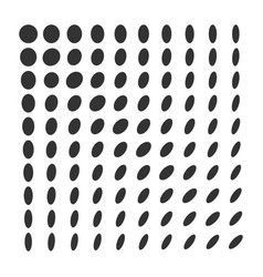 minimal monochrome dynamic halftone background vector image