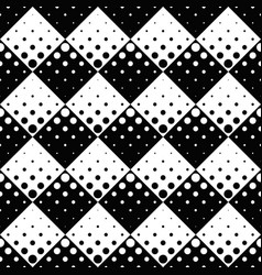 monochrome abstract seamless retro dot pattern vector image