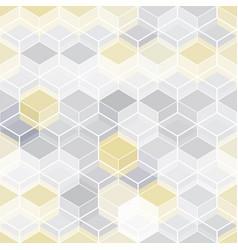tech mosaic seamless pattern vector image
