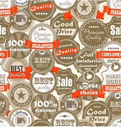 hopping Premium quality labels vector image vector image