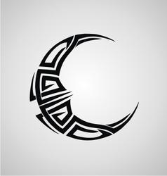 Tribal Moon vector image