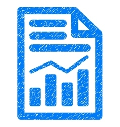 Charts Page Grainy Texture Icon vector