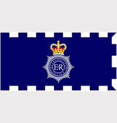 MET police flag vector