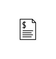 money budget icon vector image