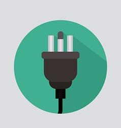 Plug design vector