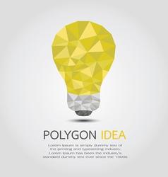 PolygonIdea vector image