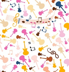 Seamless Music Background Stave Seamless Pattern vector