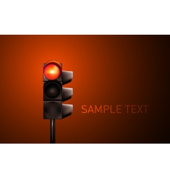 Traffic Lamp vector image