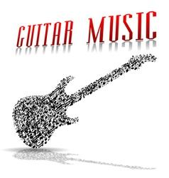 Play guitar vector image vector image