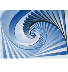 swirl background vector image vector image