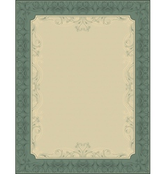 green document background vector image vector image