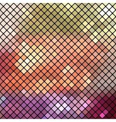 Abstract colorful mosaic vector image