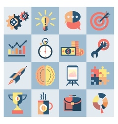 Creative icons set vector