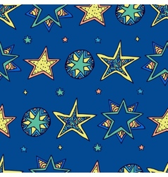 Fantasy starry sky vector