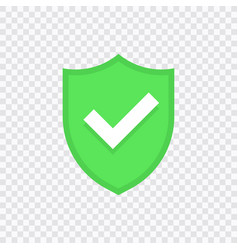 green check mark icon set vector image