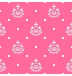 Princess seamless background vector