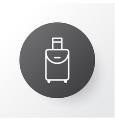 Travel bag icon symbol premium quality isolated vector