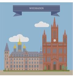 Wiesbaden vector