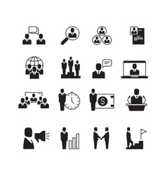 Business people professional team office group vector image vector image