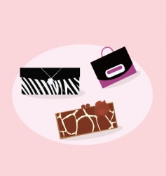 women fashion hand bags vector image vector image