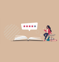 Book review online service for comments about vector