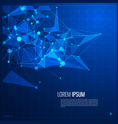 communications and internet abstract vector image