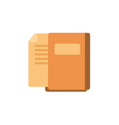 files folder isolated icon vector image