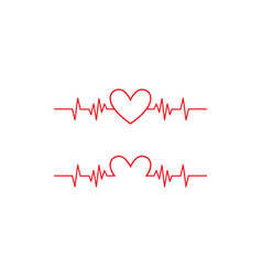 Health medical heartbeat pulse vector
