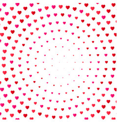 heart halftone color background valentines day vector image