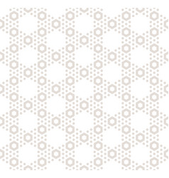 hexagon texture seamless pattern in pastel colors vector image