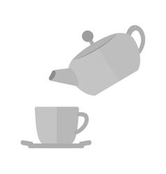 Pour Tea vector