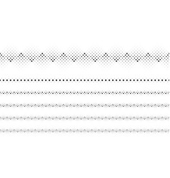 Repeating abstract monochrome circle pattern page vector