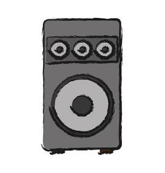 speaker icon image vector image
