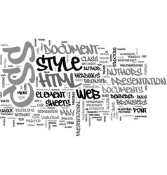 what you need to know about css text word cloud vector image