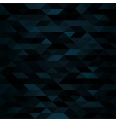 Dark Triangular Mosaic Background vector image vector image